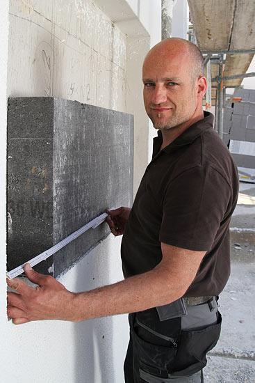 Bauleiter auf unseren Baustellen in Regensburg